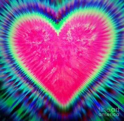 Digital Art - All You Need Is Love by Ed Weidman
