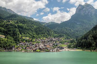 Photograph - Alleghe - Dolomiti by Joana Kruse