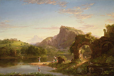 Wreckage Painting - Allegro by Thomas Cole