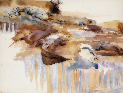 Painting - Alligators by John Singer Sargent