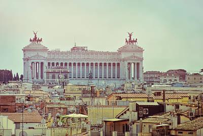 Photograph - Altare Della Patria Roma by JAMART Photography