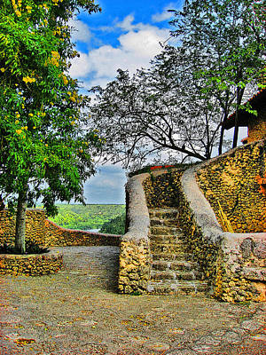 Altos De Chavon Texture. Republica Dominicana. Original