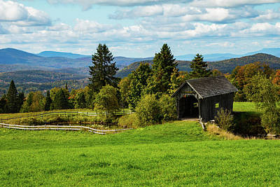 Photograph - A.m. Foster Covered Bridge by Jeff Folger