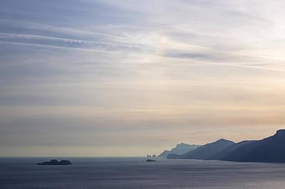 Amalfi Coast Art Print by Joana Kruse