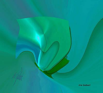 Digital Art - Amaze by Iris Gelbart