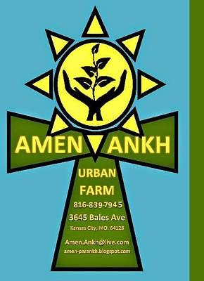 Amen Ankh Art Print