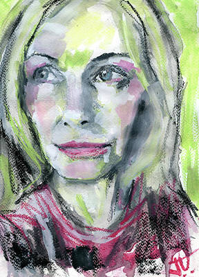 Painting - Amy by Jim Vance