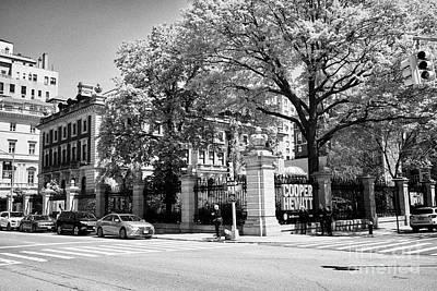 andrew carnegie mansion now cooper hewitt smithsonian design museum New York City USA Art Print