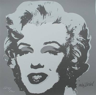 Andy Warhol Marilyn Monroe Signed Authenticated Lithograph Original by Andy Warhol