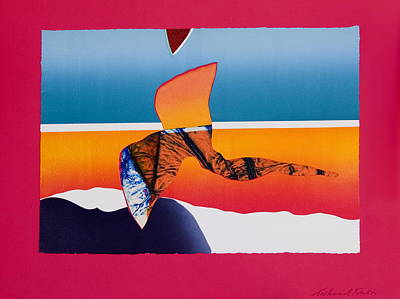 Angel Flight Art Print by Richard Knox