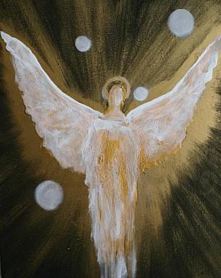 Painting - Angels Of Light by Alma Yamazaki
