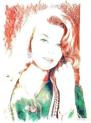 Ann Margaret Original by Ant Jones