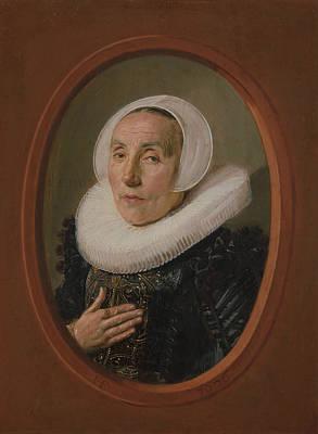 Painting - Anna Van Der Aar by Frans Hals