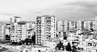 Antalya Buildings  Art Print