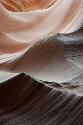 Photograph - Antelope Canyon Desert Abstract by Mike Irwin
