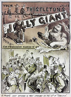 Photograph - Anti-immigrant Cartoon by Granger