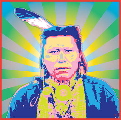 Painting - Apache Warrior by Gary Grayson
