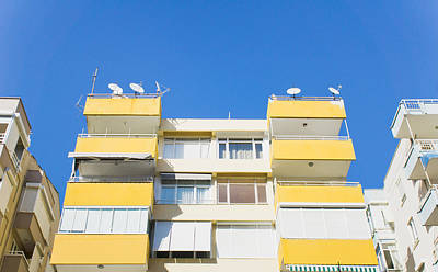 Upscale Photograph - Apartment Building by Tom Gowanlock