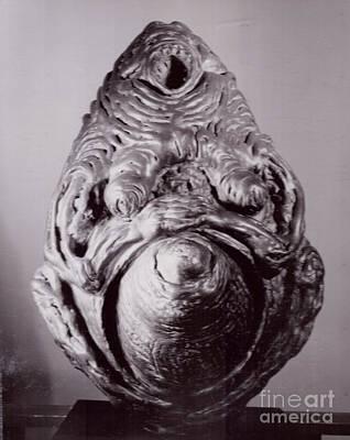 Sculpture - Ape Mother I  by Robert F Battles