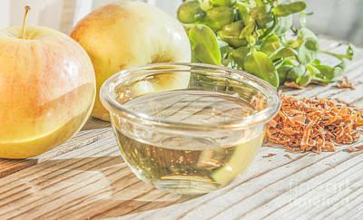 Vinaigrette Photograph - Apple Vinegar by D R