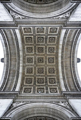 Arc De Triomphe Detail Art Print