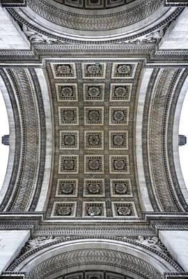 Photograph - Arc De Triomphe Detail by Dutourdumonde Photography
