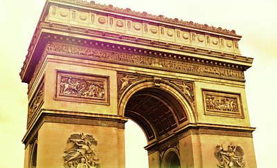 Photograph - Arc De Triomphe Art by JAMART Photography