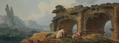 Painting - Arches In Ruins by Hubert Robert