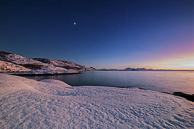 Photograph - Arctic Sunset by Frank Olsen