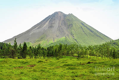 Photograph - Arenal Volcano by Patricia Hofmeester
