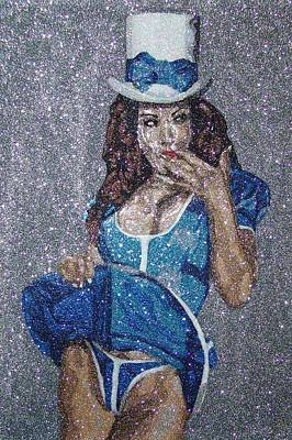 Aria Giovanni Painting - Aria Giovanni by Glitter Art