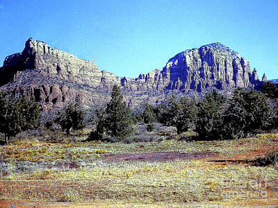 Photograph - Arizona Landscape by Merton Allen