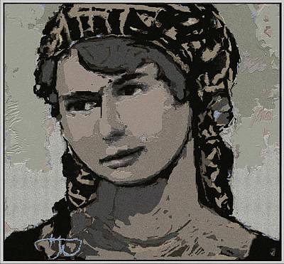 Artist Milka Tsenova Art Print
