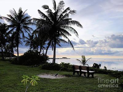 Asan Beach Guam Art Print