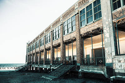 Monmouth County Photograph - Asbury Park Convention Hall by Erin Cadigan