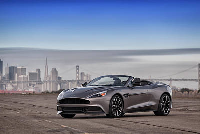 Photograph - #astonmartin #print by ItzKirb Photography
