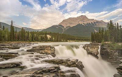 Athabasca Falls Jasper National Park Canada Original by Yves Gagnon
