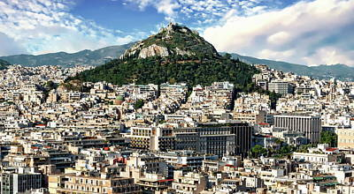Photograph - Athens Panorama by Anthony Dezenzio