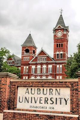 Auburn University  Art Print by JC Findley