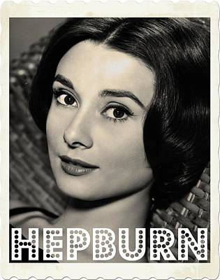 Actors Photos - Audrey Hepburn by John Springfield