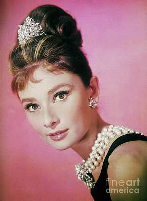Actors Photos - Audrey Hepburn, Vintage Movie Star, Photograph by Esoterica Art Agency