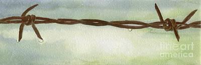 Painting - Auschwitz by Annemeet Hasidi- van der Leij