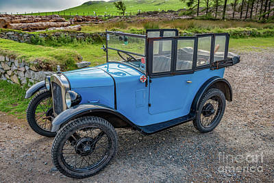 Photograph - Austin 7 by Adrian Evans