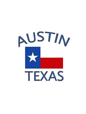 Digital Art - Austin Texas by Bill Owen