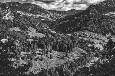 Photograph - Austrian Mountain Landscape by Unsplash