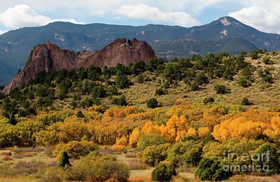 Photograph - Autumn In Garden Of The Gods by Steve Krull