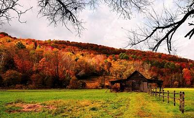 Photograph - Autumn In Vermont by Sherman Perry