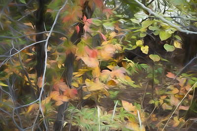 Painting - Autumn Leaves by Ann Powell