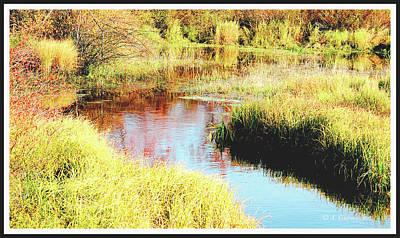 Photograph - Autumn On A Pennsylvania Mountain Stream by A Gurmankin