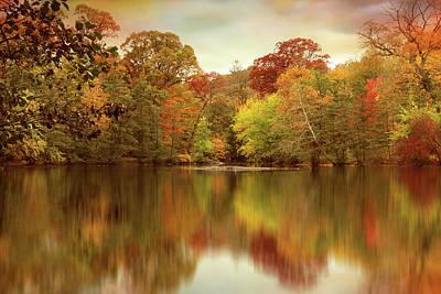 Photograph - Autumn Pond by Jessica Jenney